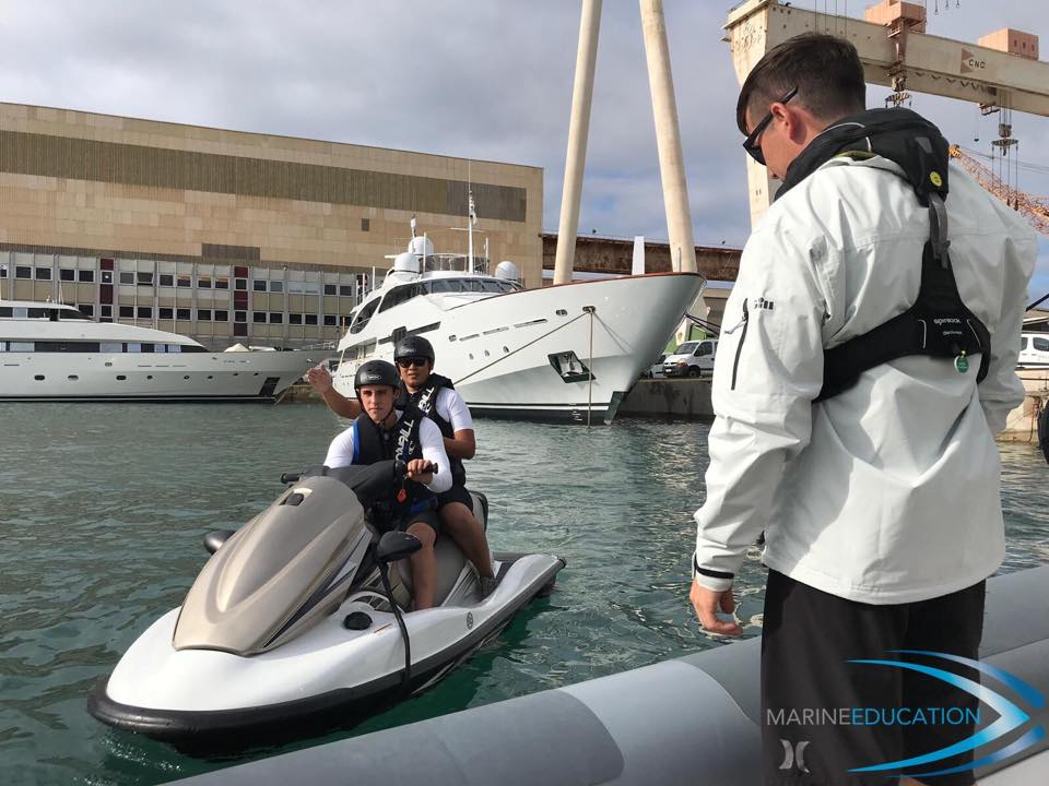 Superyacht Crew RYA PWC Instructor Course