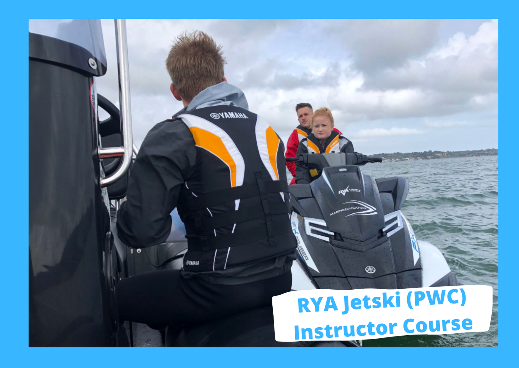 rya jetski pwc instructor course