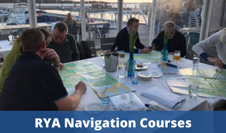 RYA Navigation Courses - RYA Essential Navigation & Seamanship, RYA Day Skipper Theory, RYA Yachtmaster Theory