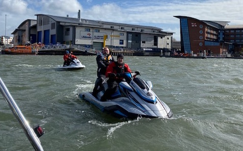 RYA Jetski (PWC) Instructor Conversion Course ©www.marine-education.co.uk