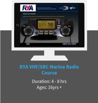 RYA VHF marine radio online course