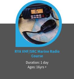 rya vhf src radio course