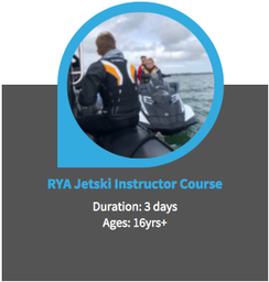 RYA Jetski PWC Instructor Course Poole
