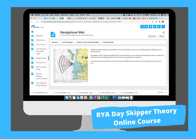 rya day skipper theory course
