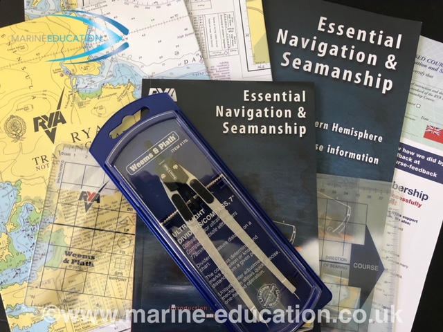 RYA Essential Navigation & Seamanship Course Pack
