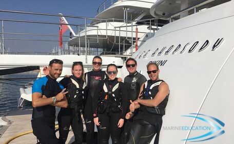 Superyacht Crew RYA PWC Instructor Course ©www.marine-education.co.uk