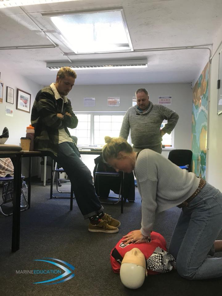 RYA First Aid Course, Poole