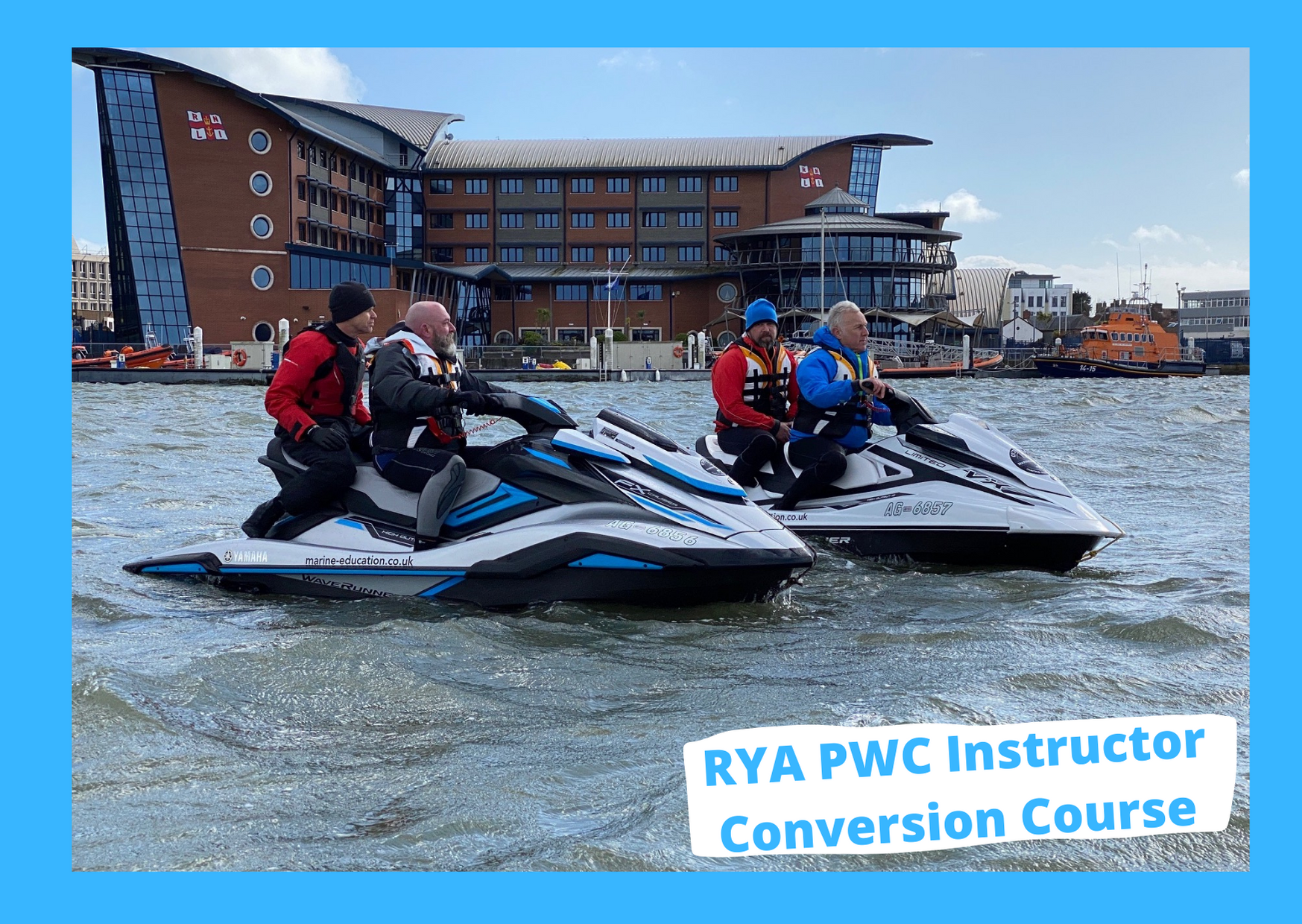 rya powerboat instructor to jetski instructor conversion
