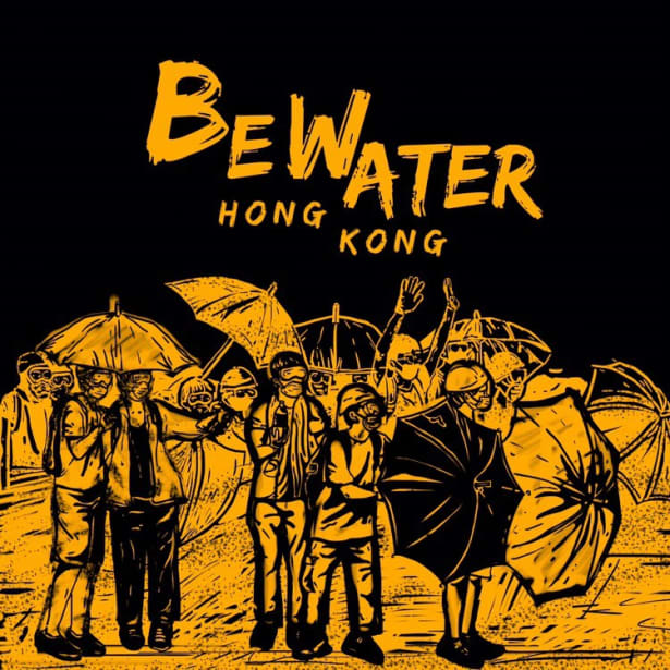 Be water:' the Hong Kong protest mantra