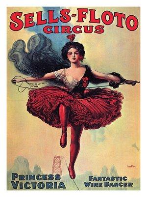 ピノンが所属していたセルス・フロト・サーカスのポスター。