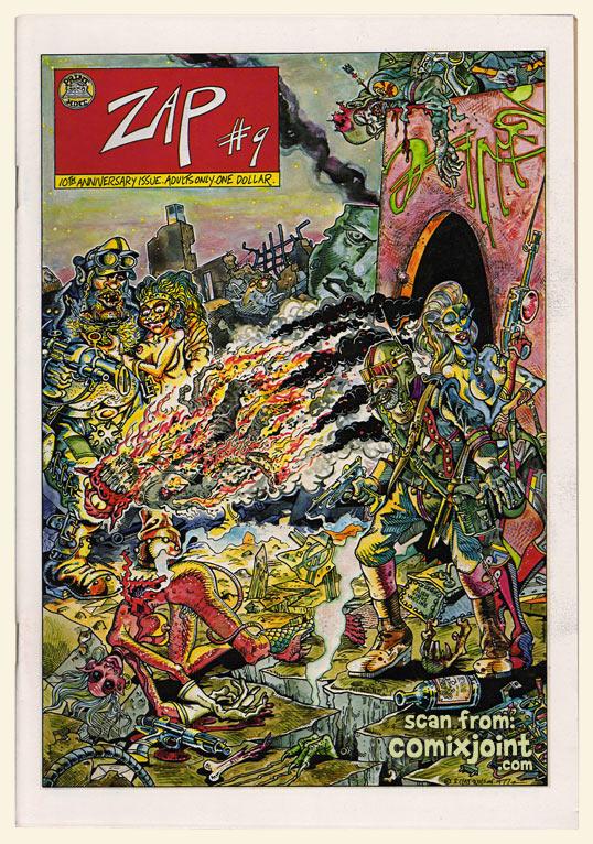 『Zap Comix』9号表紙