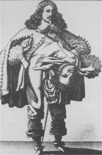 ラザロ&ジョアンネ・バプティスタ・コリドー兄弟。チャールズ一世にそっくりだった。
