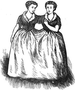 1869年に描かれたビデンデンのおとめ