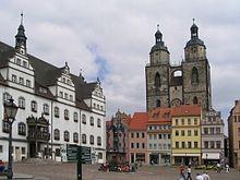 Lutherstadt Wittenberg Marktplatz