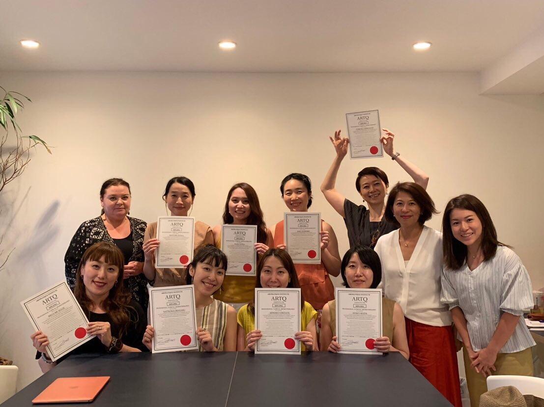 素晴らしい評価を頂き技術試験全員合格(2019年6月オーストラリア)