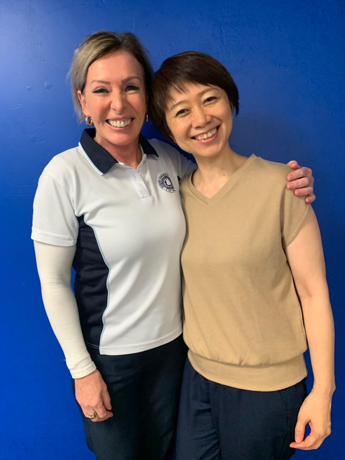 MSQ校長先生と、私の技術試験は校長先生でした(2019年6月オーストラリア)