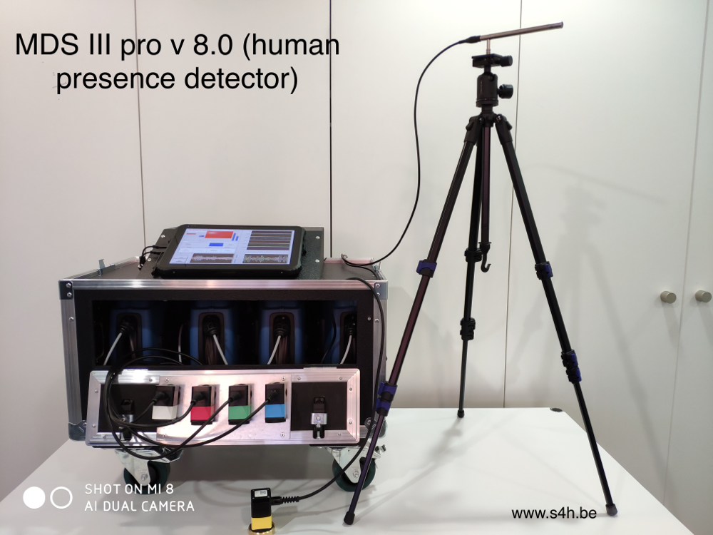 MDS III pro v 8.0 (human presence detector) model 2019 includes the new Mark II sensors.