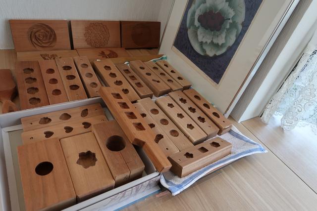 少しずつ和菓子の木型を集めています。