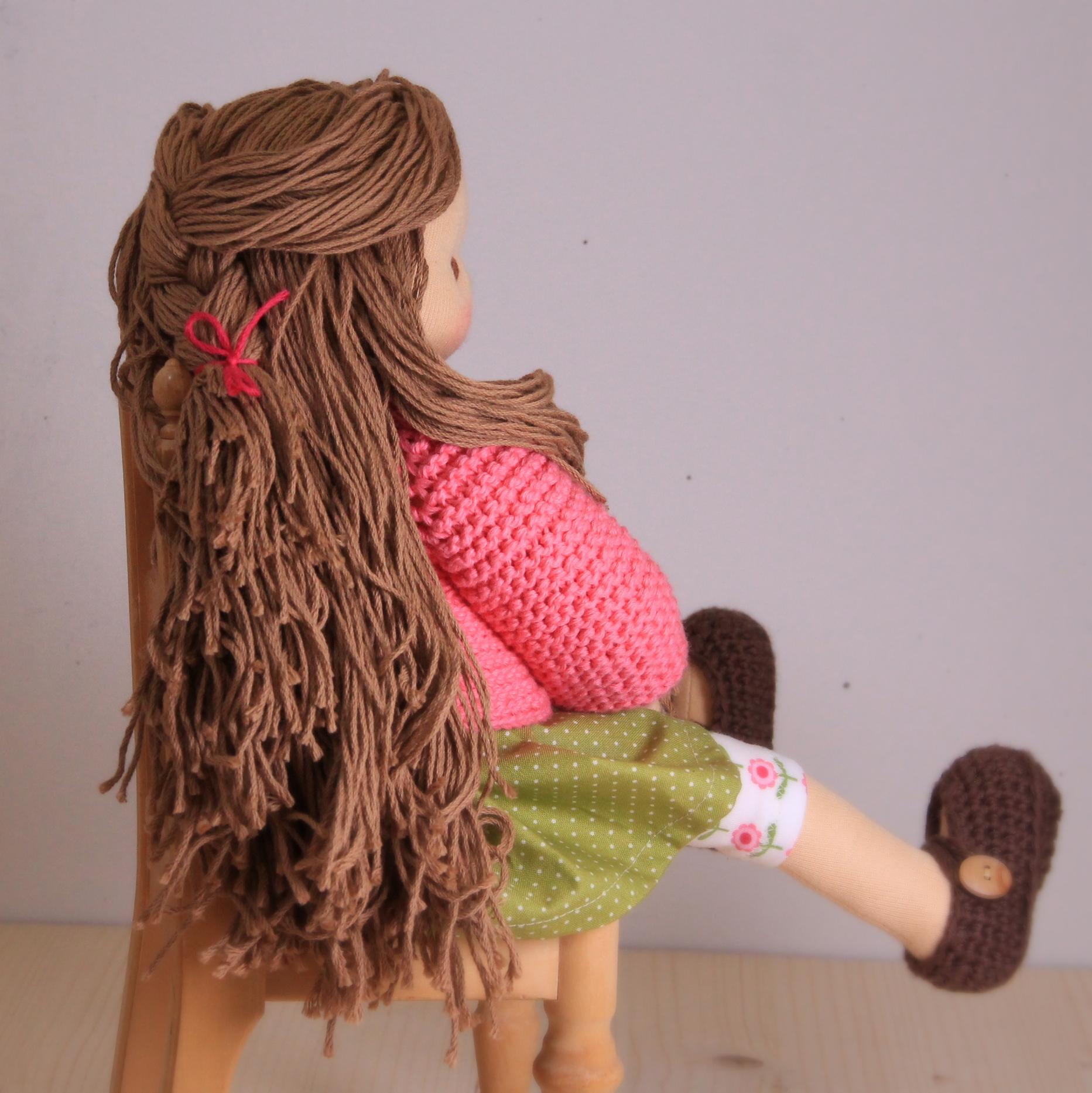 """Haarsträhnen """"lang"""""""
