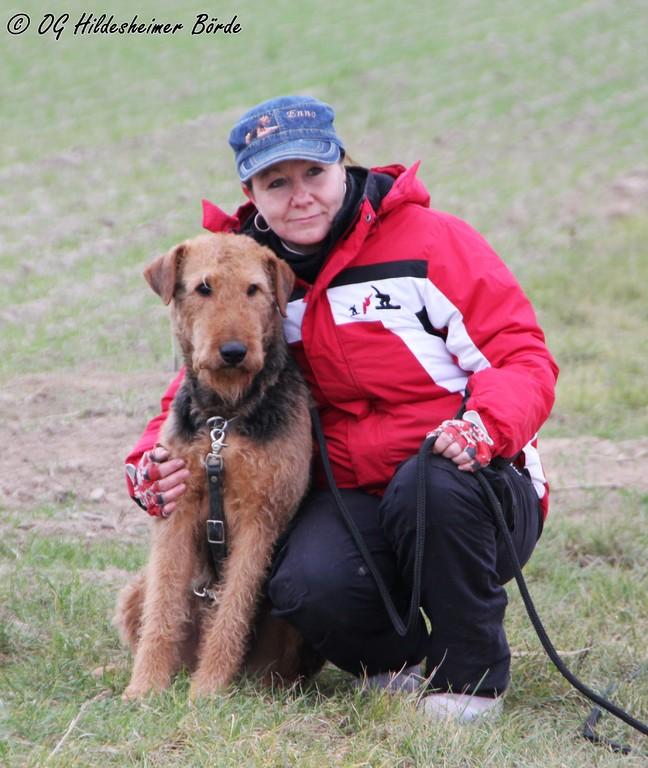 Tatjana Mondri mit Dexter von der Christinenheide - FH 2 - 88 Pkt.