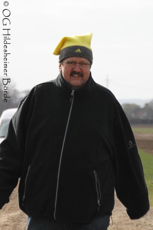Prüfungsleiter Karl-Heinz Dahlke