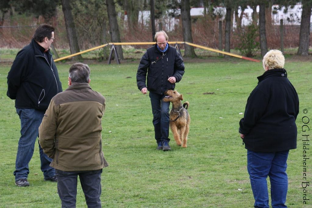 DANKE an Uwe Winter mit Dick vom Bismarckstein - Blindenhund