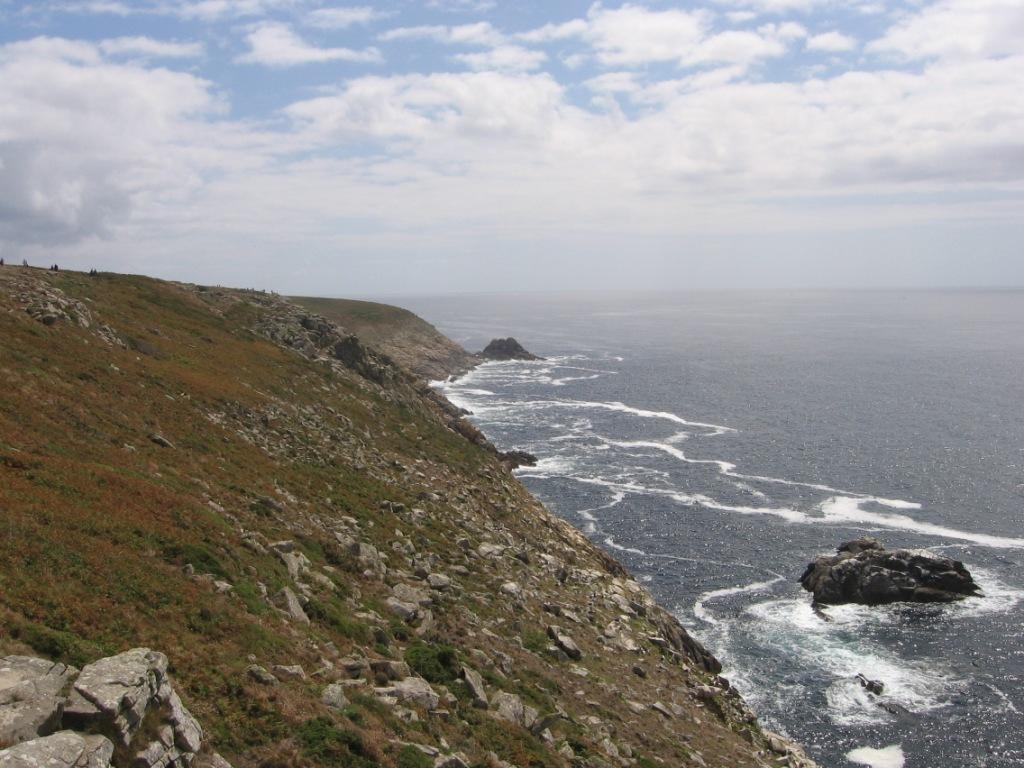 Vista dal promontorio di point du Raz