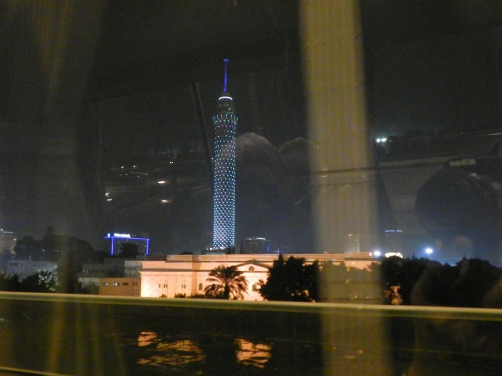 Torre del Cairo nell'isola di Gezira
