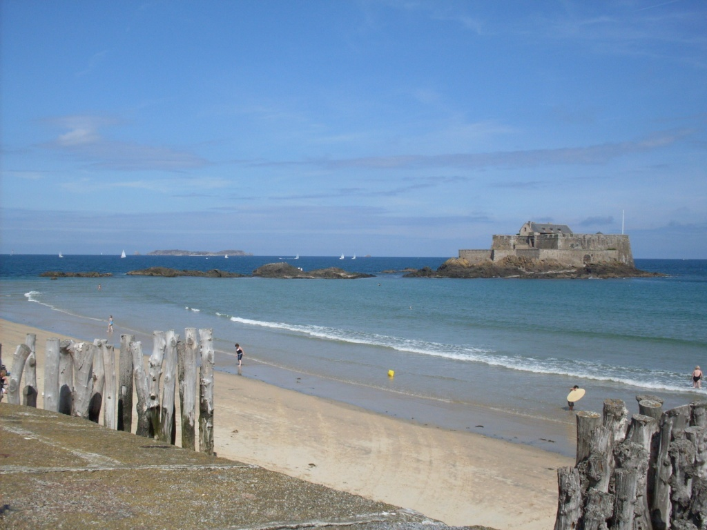Panorama dai bastioni di St-Malo