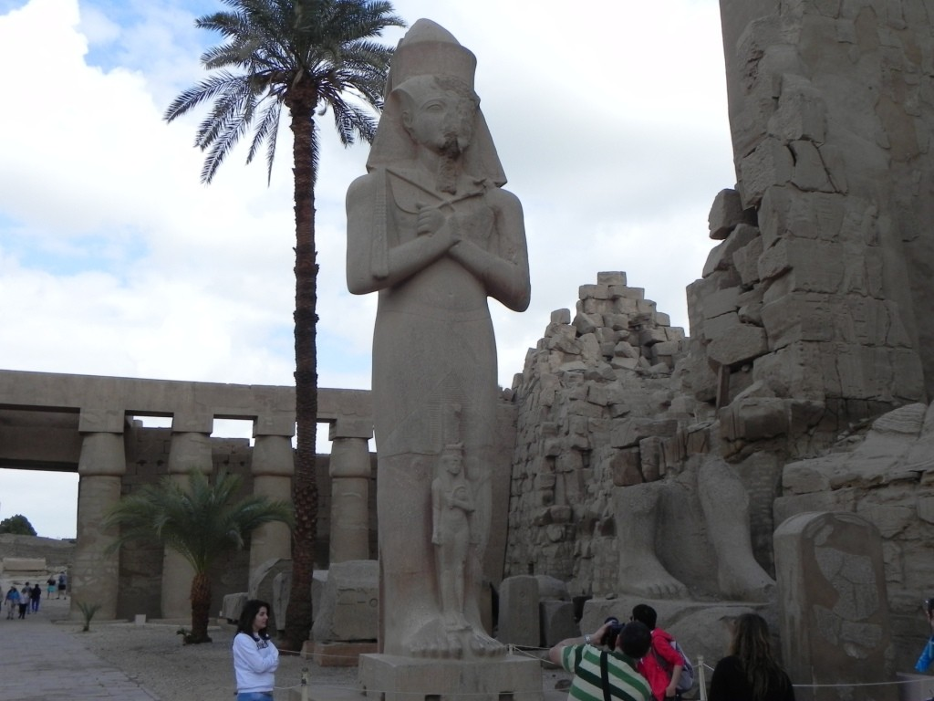 Pinedjem,Gran Sacerdote di Amon a Tebe (alta 15 mt)
