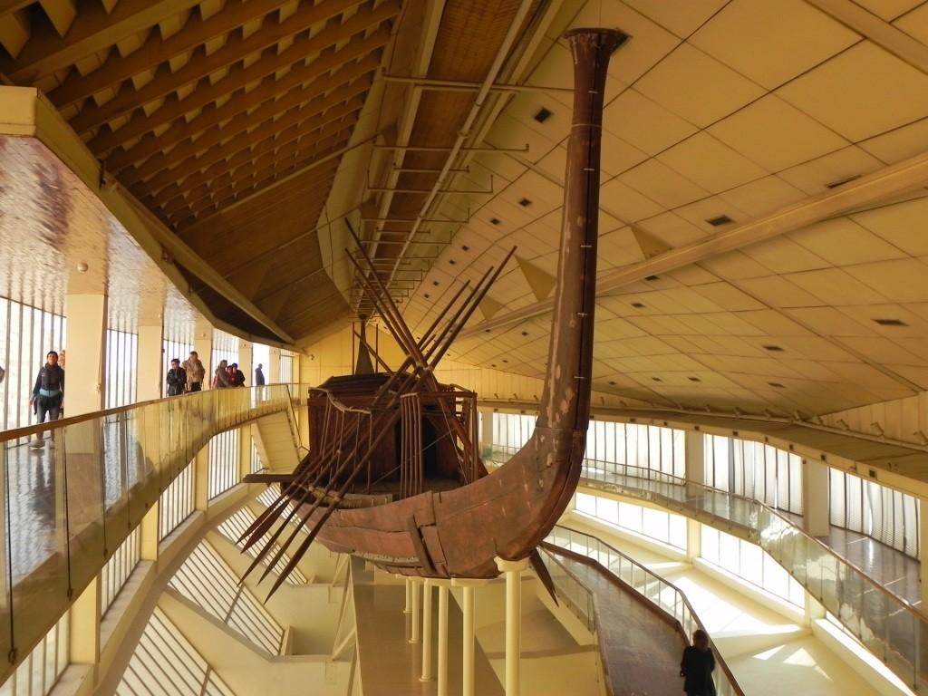 La barca Solare