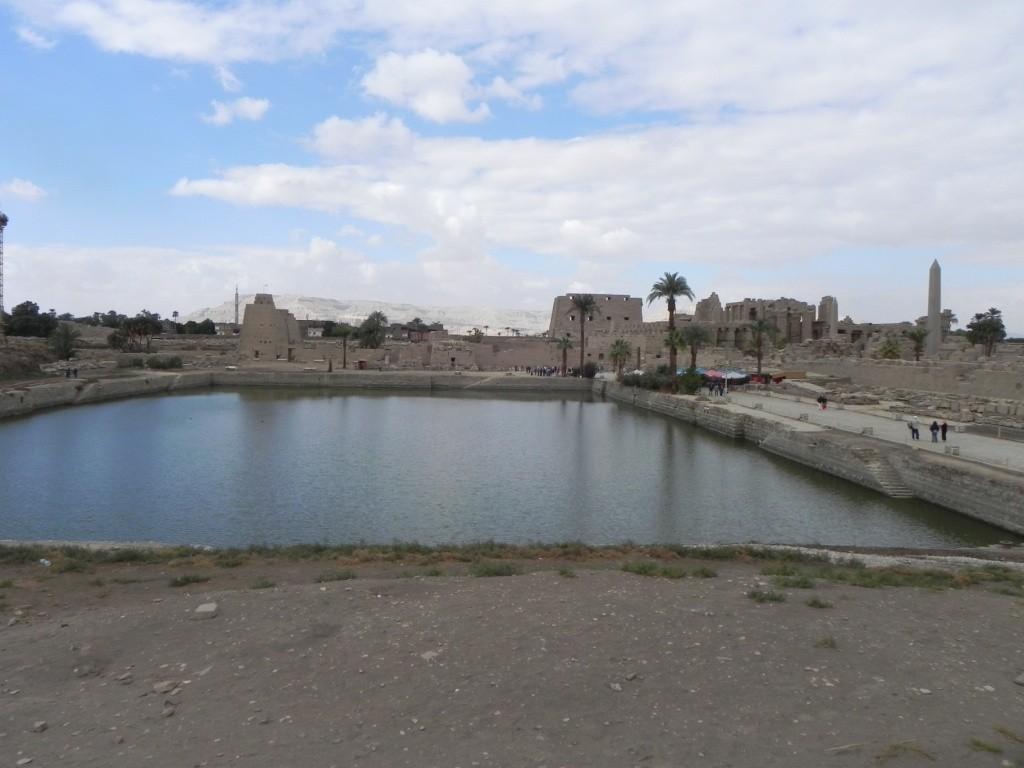 Il lago sacro dove i sacerdoti facevano le abluzioni rituali