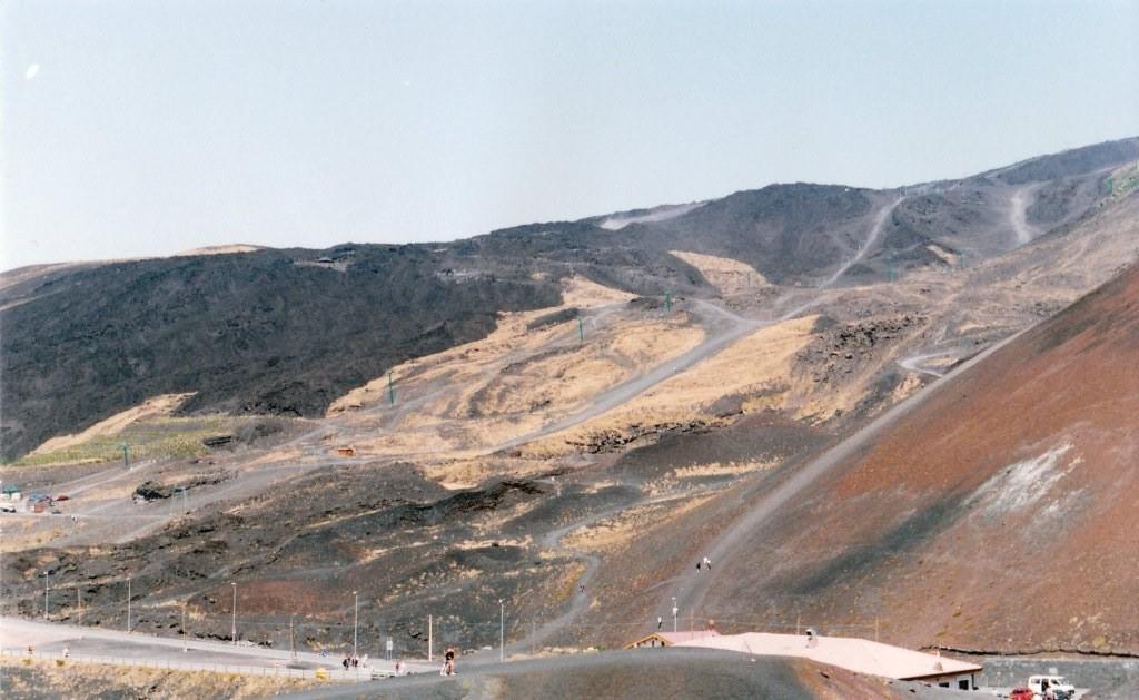 Strada sull'Etna