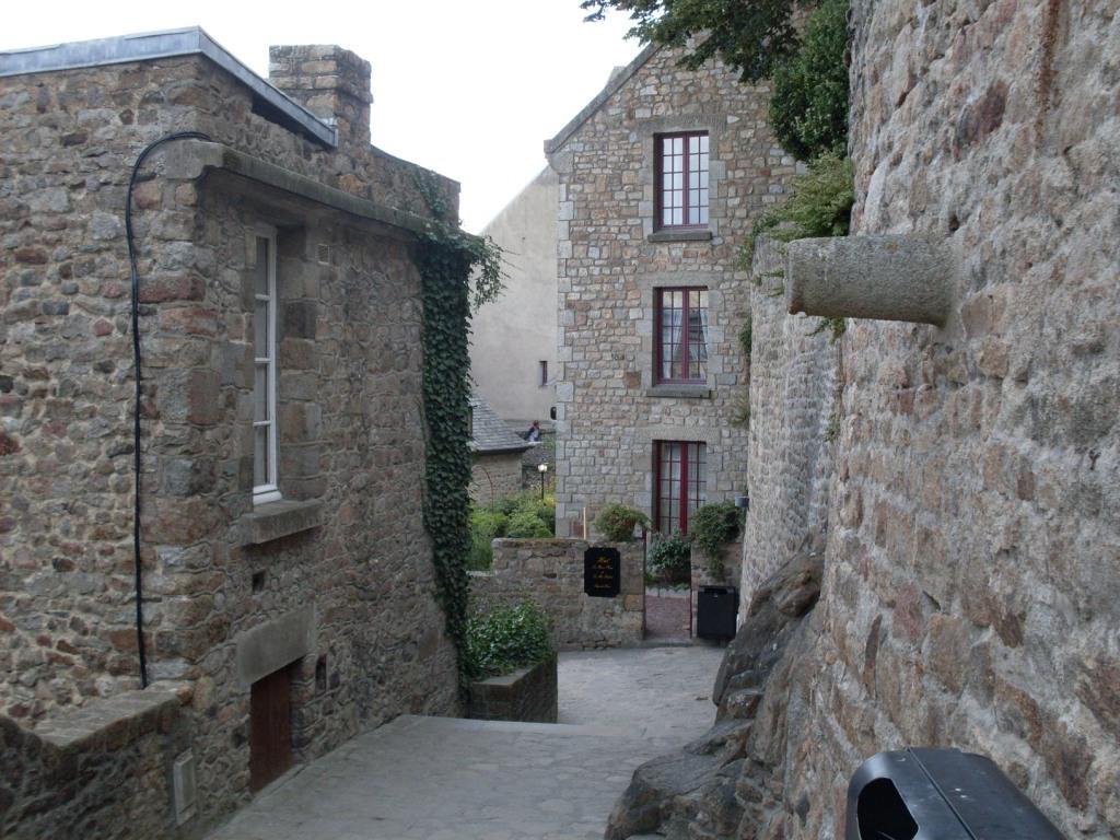Dentro le mura di Le Mont-St-Michel