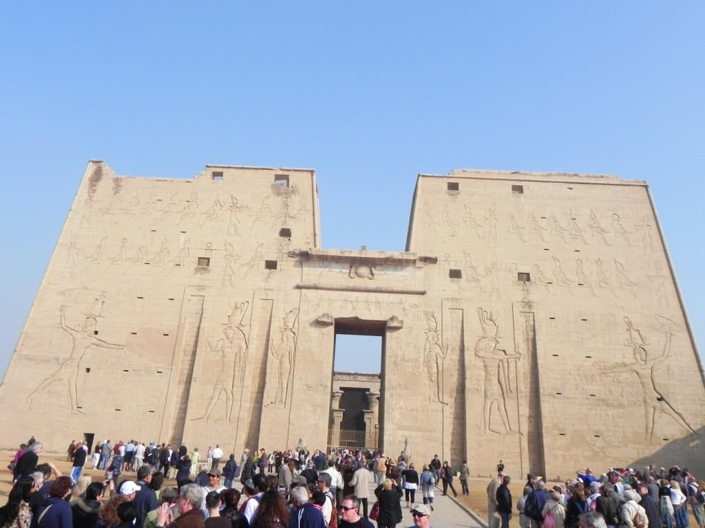 Tempio di Ramsete III - Medinet Abu