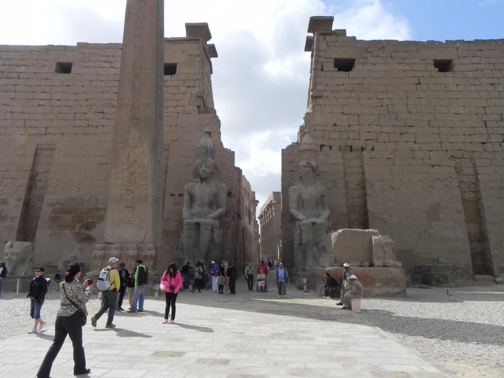 Accesso al Tempio di Luxor