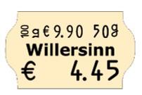 Preisetikett 32x19 passend für Meto oder contact Grundpreis