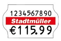 Preisetikett 32x19 für Meto Eagle L und Meto ProLine L, contact premium L