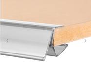 Abbildung Scannerschiene / Klemmprofil für Holzböden 18 - 25 mm
