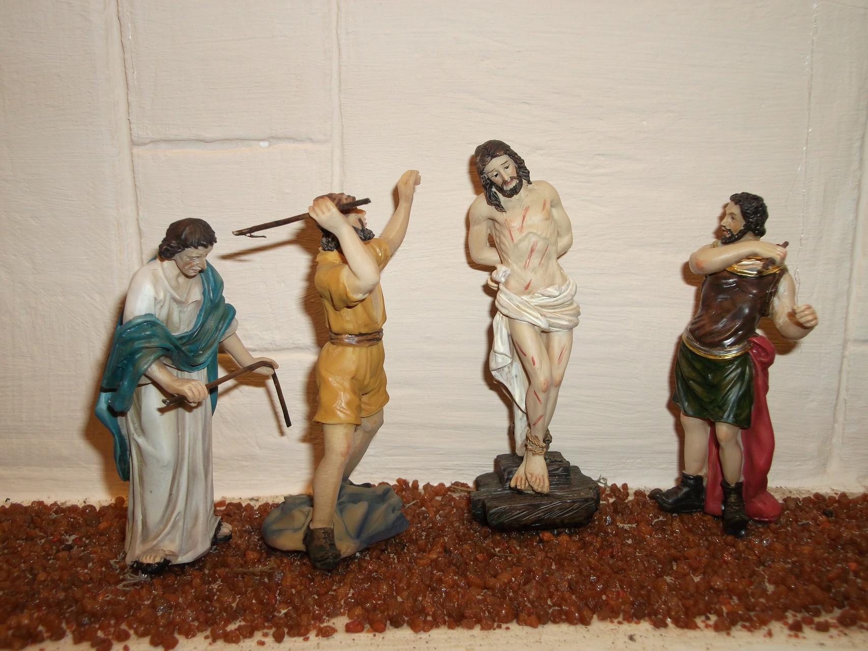 Jesus wird gegeißelt