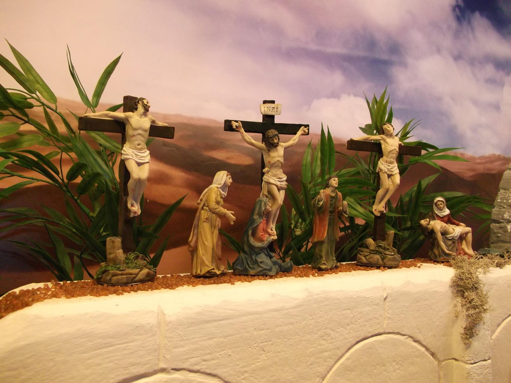 Jesus wird gekreuzigt