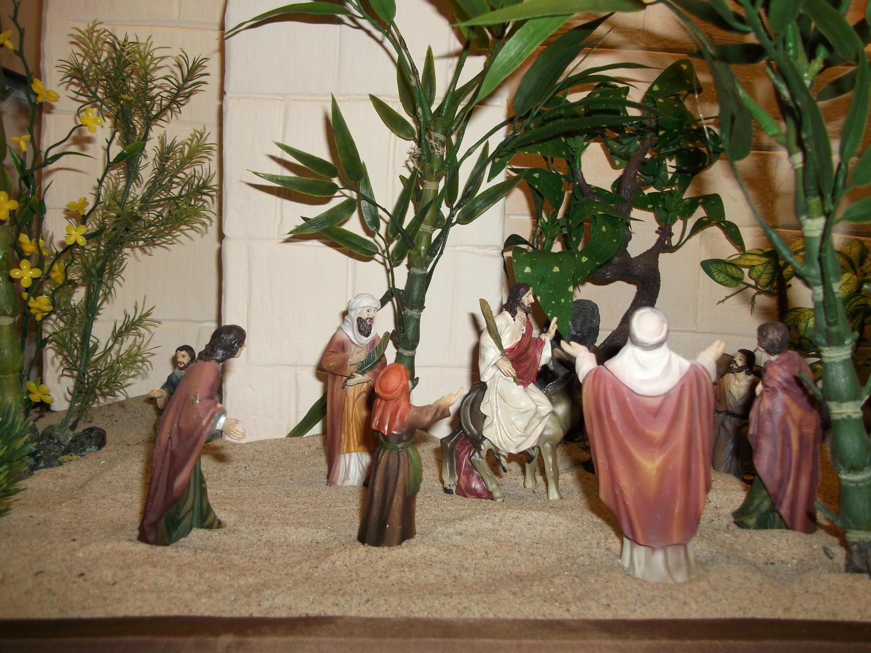 Jesus zieht in Jerusalem ein