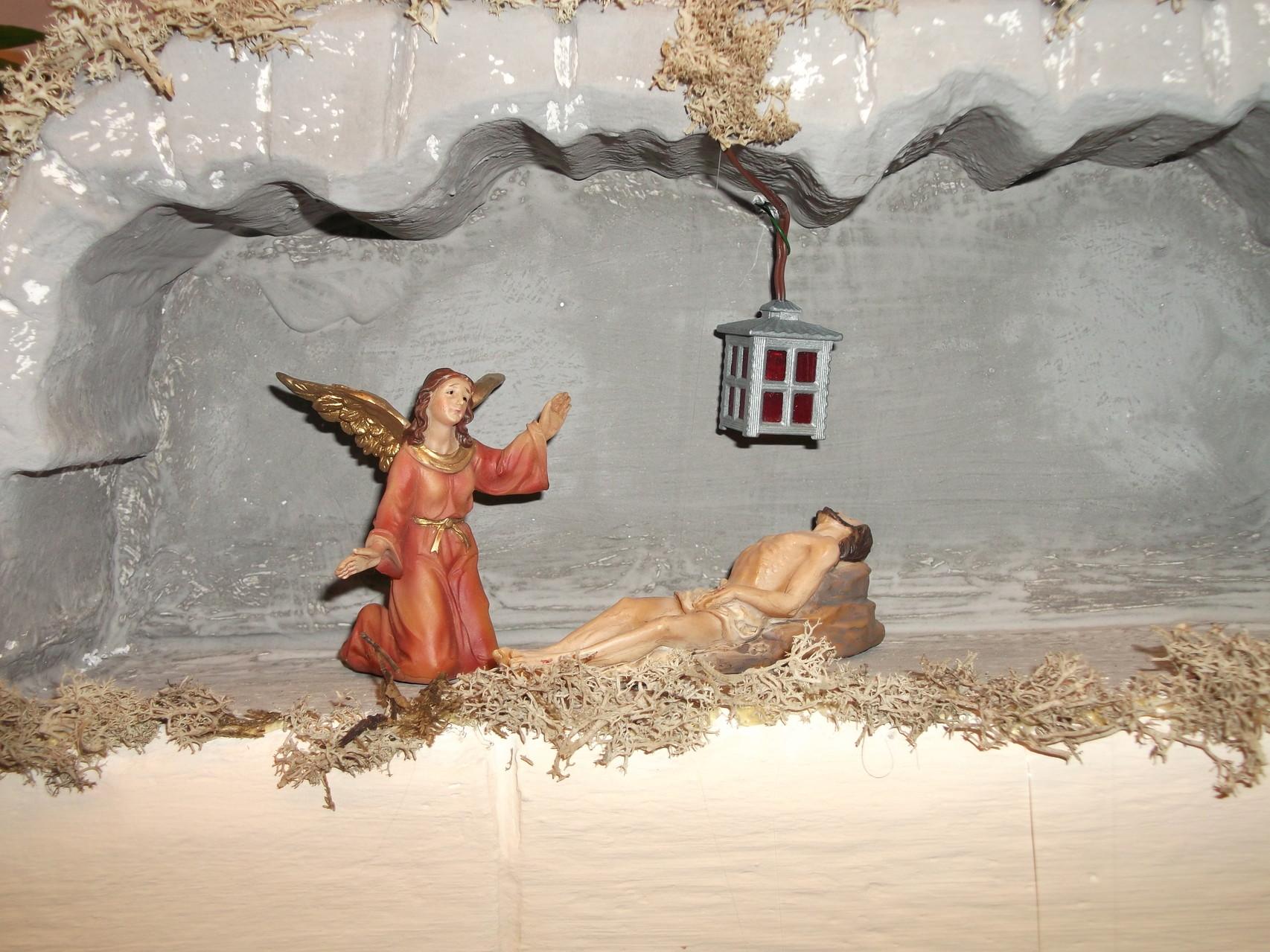 Jesus im Grab