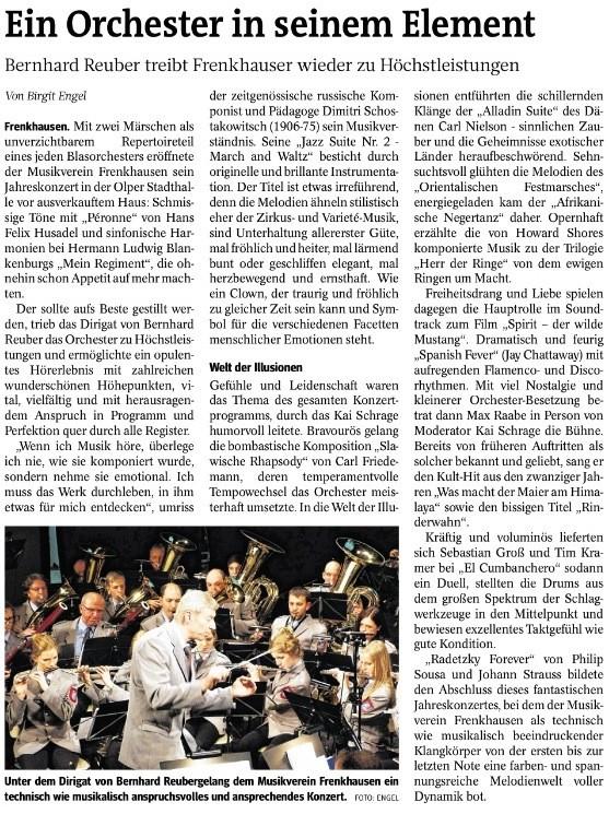 Westfalenpost, 24. März 2014