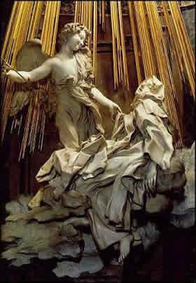 Экстаз св. Терезы в церкви Санта Мария делла Виттория
