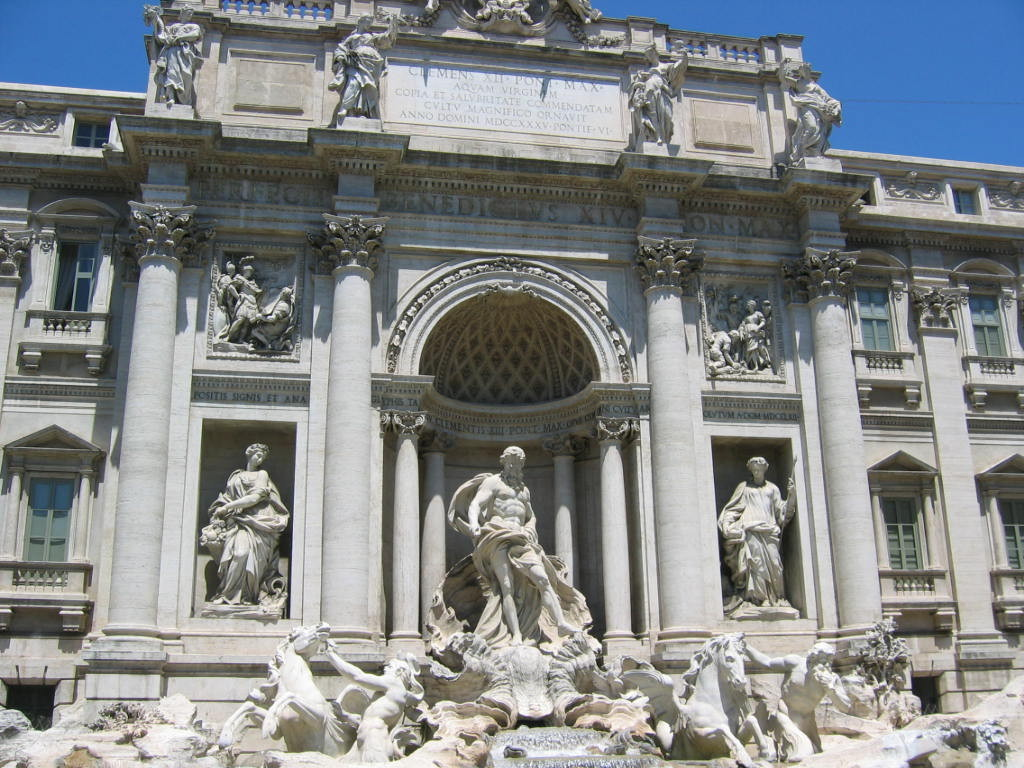 Фонтан Треви- - символ Рима