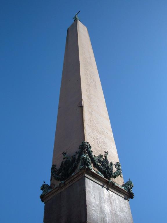 Обелиск на площади св. Петра