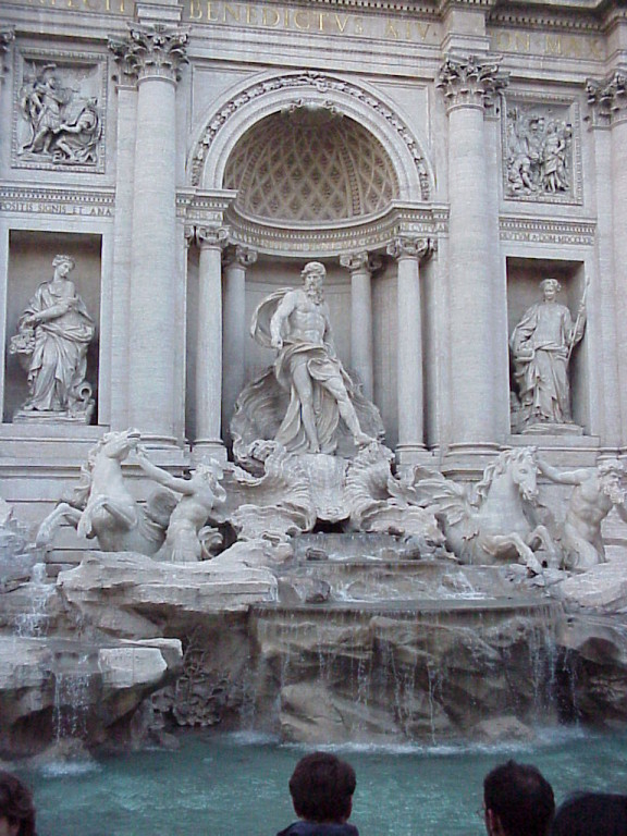 Фонтан Треви - символ Рима