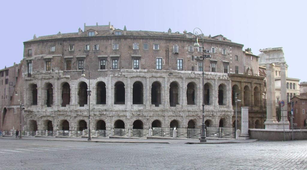 Колизей - амфитеатр для гладиаторских битв