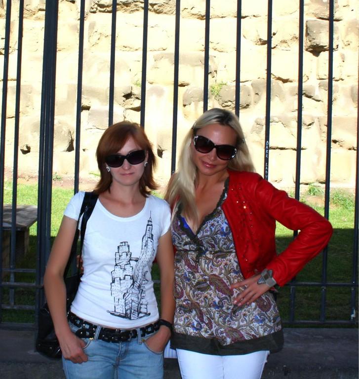С певицей, актрисой, ведущей Екатериной Линцевич